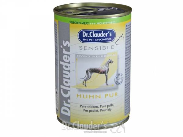 Dr. Clauder`s Selected Meat Sensible Huhn pur