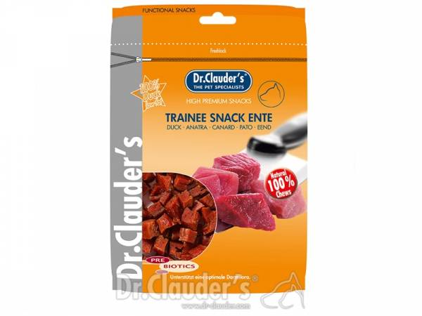 Dr. Clauder`s Trainee Snack Ente Hundesnacks