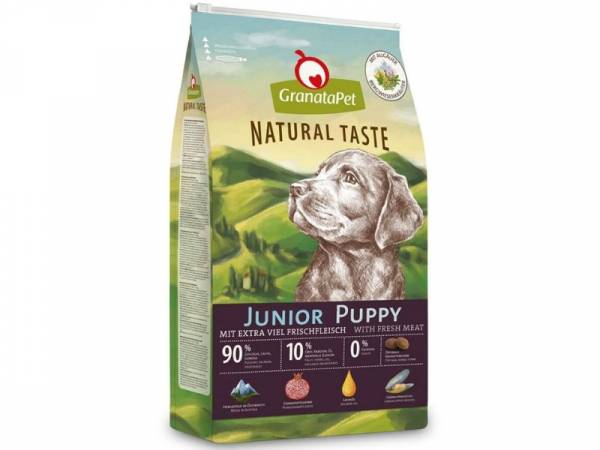 GranataPet Natural Taste Junior Puppy Hundefutter trocken