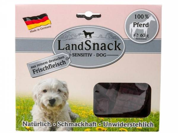 LandSnack Dog Sensitive Pferd Hundesnacks