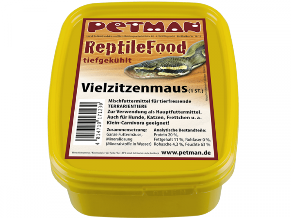 Petman Mice on Ice Vielzitzenmaus Reptilien-Frostfutter