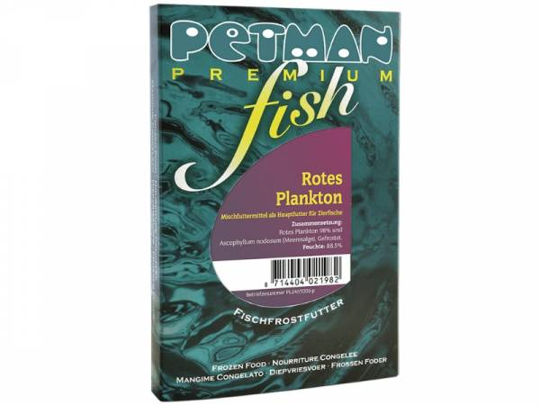 Petman Premium fish Rotes Plankton Fisch-Frostfutter