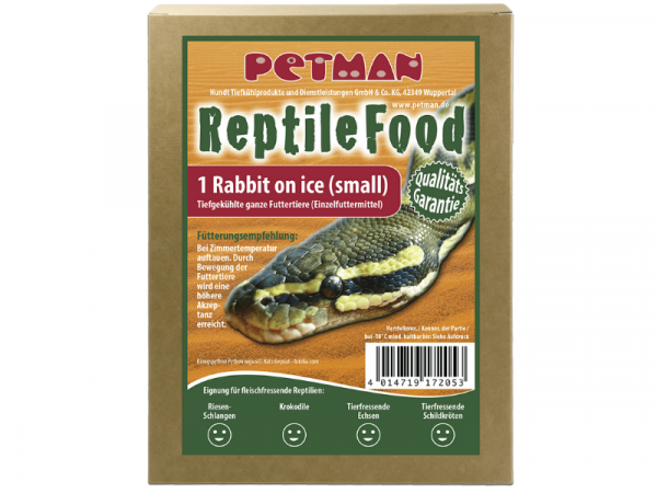 Petman Rabbit on Ice Small Reptilien-Frostfutter