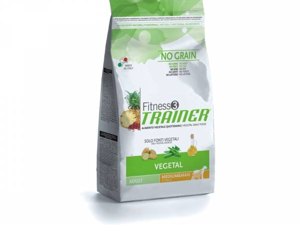 Trainer Fitness3 Adult Medium/Maxi Vegetal Hundefutter trocken