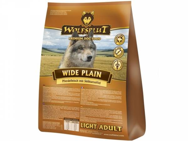 Wolfsblut Wide Plain Adult Light Hundefutter mit Pferd