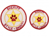 StyleSnout® Patch it Sticker Sheriff